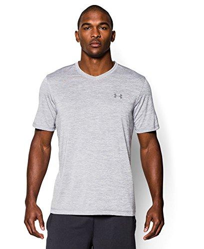 Under Armour Men's Tech V-Neck T-Shirt, Steel (035), X-Large