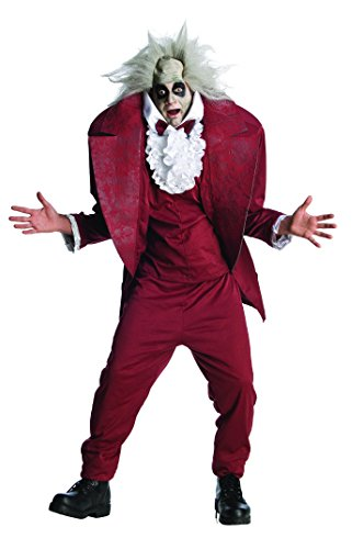 Shrunken Head Mens BeetleJuice Costume - Standard or XL