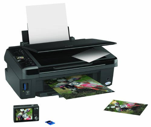 Epson Stylus SX425W Colour Inkjet Printer/Scanner/Copier (All-In-One, Individual Ink Technology & Wi-Fi )