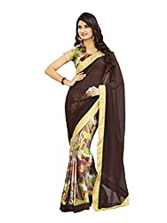 Morpankh enterprise Black Georgette Saree ( Ridhhi 106 black )