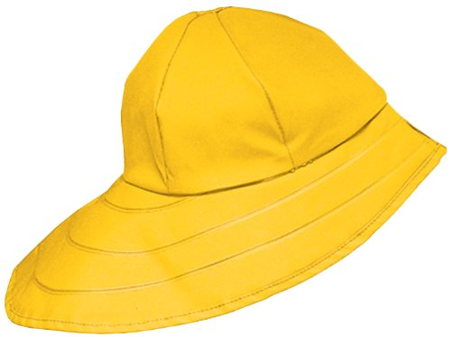 [Dutch Harbor Gear Men's Sou'Wester Hat, Yellow, Medium] (Fisherman Costume)
