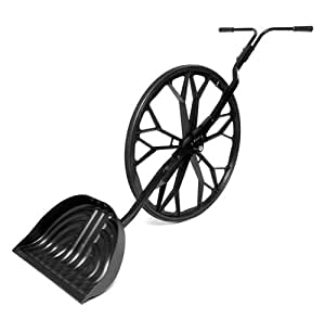 Snow Wolf SW0310 Wheeled Snow Shovel With Wear Strip