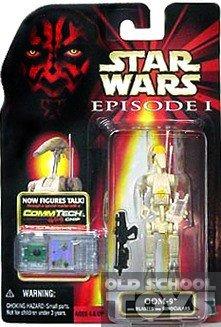 Star Wars Episode 1 - Action Figur 84127 - OOM-9 mit Blaster und Fernglas (inkl. CommTech Chip)