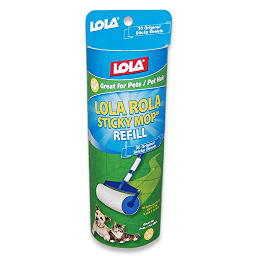Lola Products 903 Rola Sticky Mop Refill 6 Pack