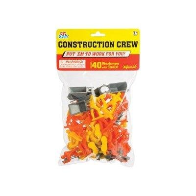 Buy Construction Crew Playset: 40 Worker 2 inch Plastic Figures with Tools