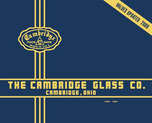 Image for Cambridge Glass Catalogue 1930-1934