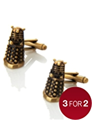 Doctor Who Dalek Cufflinks