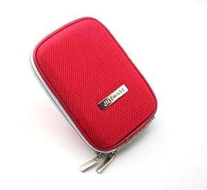 jntworld EVA camera case hard case for canon IXUS 510 HS IXUS 240 HS IXUS 230 HS IXUS 220 HS IXUS 125 HS IXUS 115 HS (red)