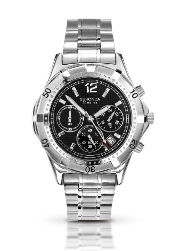 Sekonda Gents Chronograph Watch 3379