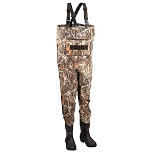Hodgman guidelite breathable chest wader with for Fishing waders amazon