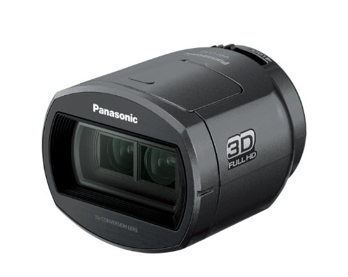Panasonic VW-CLT2 3D Conversion Lens for Panasonic HC-V700/HC-X800/HC-X900 Camcorders
