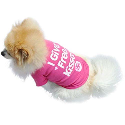 Artikelbild: Haustier-Weste, oyedens Neue Art Und Weise Haustier Hund Sommerhemd Kleiner Hund Katze Haustier Kleidung Weste T-Shirt (L)