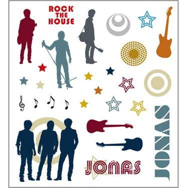 JONAS Cool Clings (2 sheets) - 1