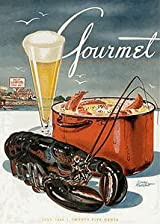 Gourmet Magazine, July 1945 Puzzle, Lobster Dinner - 1000 Pieces by New York Puzzle