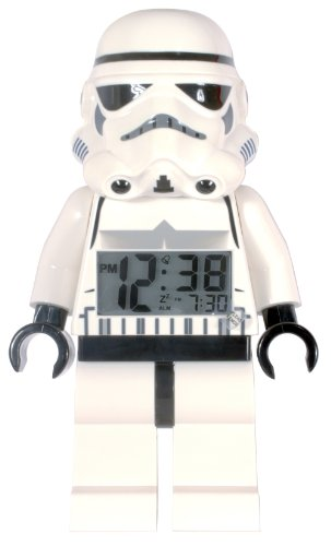 LEGO Star Wars Storm Trooper Minifigure Clock