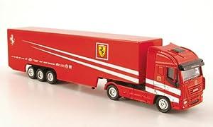 Iveco Stralis, scuderia Ferrari team Truck , 2009, Model Car, Ready-made, New Ray 1:87