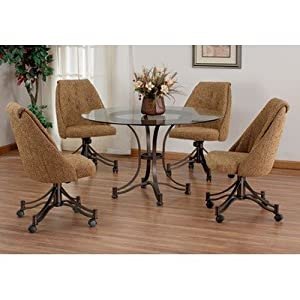 Tempo denver dining table set tempo 6 piece for Table 6 in denver