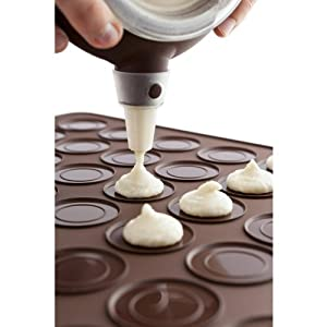 Silicone Macaron macaroon Baking Sheet Mat Muffin DIY Chocolate Cookie Mould Mode - 30... by Winpoon�