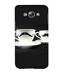 Mental Mind 3D Printed Plastic Back Cover For Samsung Galaxy E5- 3DSAME5-G828