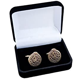 Astrolabe Cufflinks (Bronze)