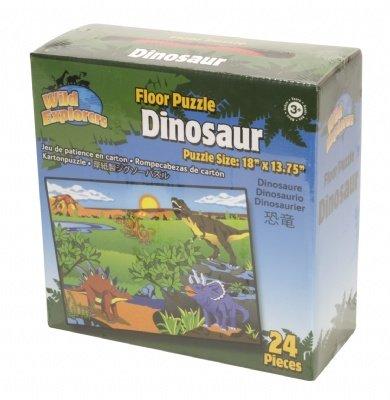 Floor Puzzle 24 Pc Dino - 1