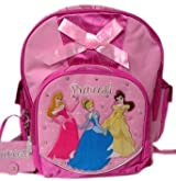 Disney Princess School Backpack Bag : pink