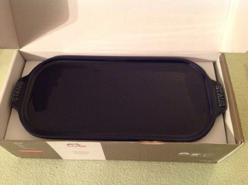 Staub Ceramic Terrine, 1.5 Quart, 26 by 12 cm Dark Blue