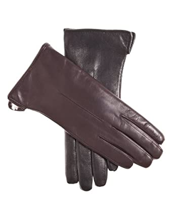 Fratelli Orsini Everyday Women's Our Bestselling Italian Rabbit Fur Gloves Size 6 1/2 Color Brown