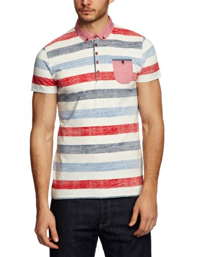 GUIDE LONDON SJ.3789 Polo Shirt Men's Top Red Medium