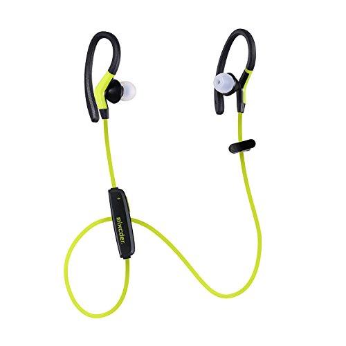Mixcder ZeroSport ワイヤレス Bluetooth イヤホン スポーツ イヤフォン 高音質 カナル型 マイク内蔵 防汗 防滴 技適認証済 (イエロー・ブラック)