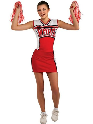 Rubies Glee Cheerleader Teen Girls Halloween Costume - Standard | 886302