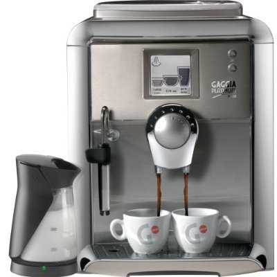 Gaggia 90951 Platinum Vision Automatic Espresso Machine with Milk Island in Platinum with 3 Free Coffee Boxes and More...