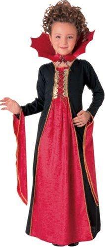 Rubie's - Vestido de vampiresa gótica (terciopelo, talla S)