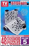 Tv Guide: Crossword Companion Refills - Roll-a-puzzle System - Volume 5 (48 Crossword Puzzles)
