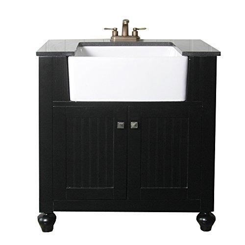 Legion-Furniture-WLF6022-E-30-Farmhouse-Apron-Style-Single-Sink-Bathroom-Vanity-with-Granite-Top