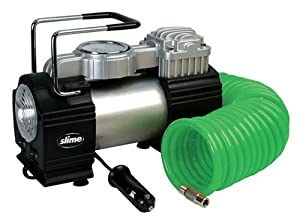 Slime COMP06 Pro Power Heavy-Duty 12-Volt Tire Inflator
