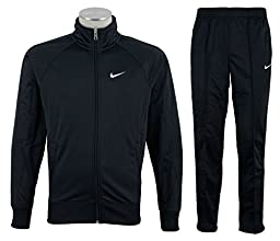 Nike Mens Tracksuit Classic Warm Up Jog Suit Black Size XXL New 449939 010