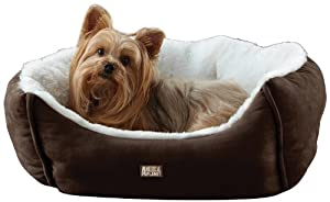 Animal Planet Micro Suede Pet Bed, Brown