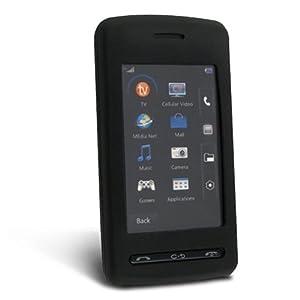 NEW LG CU920 CU915 Vu Black Skin