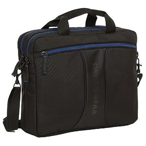 "Wenger JETT Carrying Case for 14.1"" Notebook - Black, Blue - Tear Resistant"