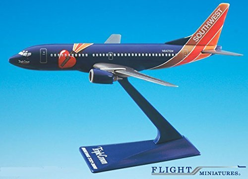 Southwest Triple Crown 737-300 Airplane Miniature Model Plastic Snap Fit 1:200 Part# ABO-73730H-404 (Southwest Airlines Model compare prices)