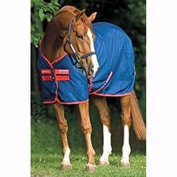 Horseware Amigo Mio Stable Sheet - Size:75 Color:Navy/Red