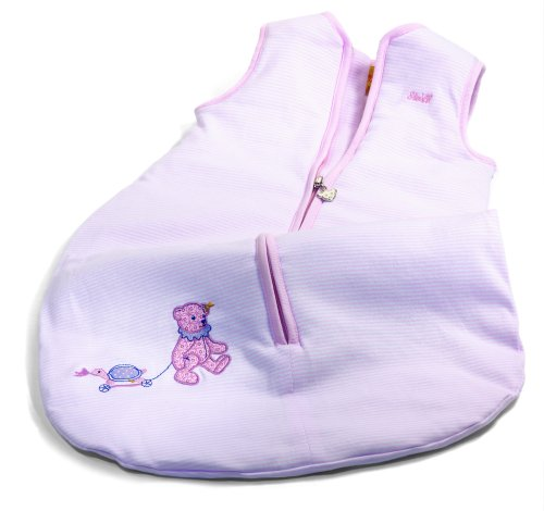 Steiff Little Circus Teddy Bear Sleeping Bag, Pink Baby Plush