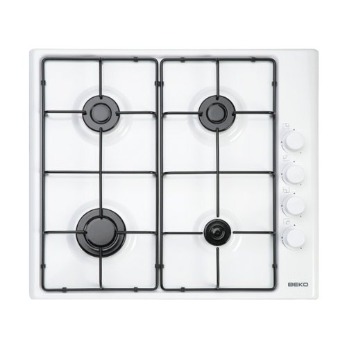 600mm Gas Hob in White