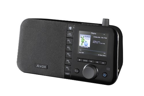 Avox Indio Color Internetradio with 3.5 ' Display Black Friday & Cyber Monday 2014