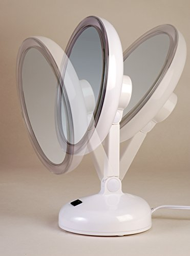 Floxite Daylight Cosmetic Mirror 10 X Mag 887408366705