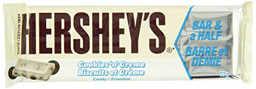 Hershey's Cookies 'n' Crème King Size Bar, 18 Count