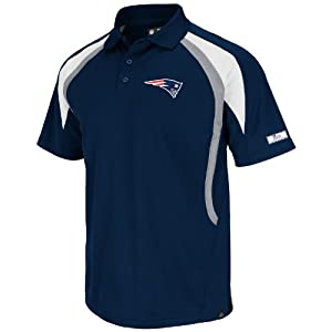 New England Patriots Blue Field Classic VI Synthetic Polo by VF