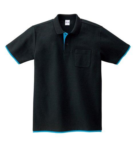Printstar(プリントスター)   ベーシックレイヤード ポロシャツ (ポケット付き) 5.8oz