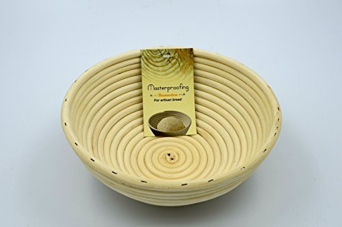 Masterproofing 8-inch Round Banneton Proofing Basket (Bread Form compare prices)